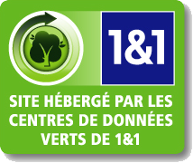 1&1 Hébergement de sites internet
